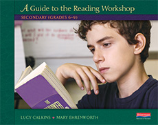 A Guide to the Reading Workshop: Middle School Grades cover