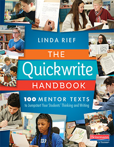 The Quickwrite Handbook cover