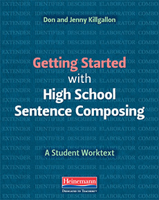 Learn more aboutGetting Started with High School Sentence Composing