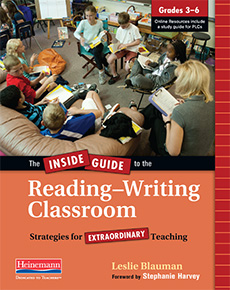 The Inside Guide to the Reading-Writing Classroom, Grades 3-6 cover