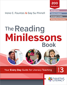 The Reading Minilessons Book, Grade 3 cover