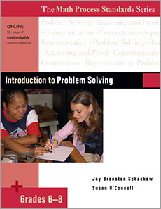 Introduction to Problem Solving, Grades 6-8 cover