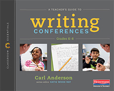 A Teacher's Guide to Writing Conferences cover