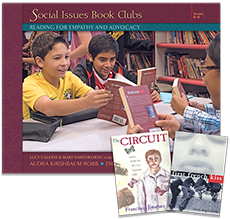 Social Issues Book Clubs: Reading for Empathy and Advocacy with Trade Pack cover