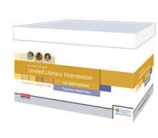 Fountas & Pinnell Leveled Literacy Intervention (LLI) Gold System cover