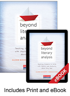 Learn more aboutBeyond Literary Analysis (Print eBook Bundle)