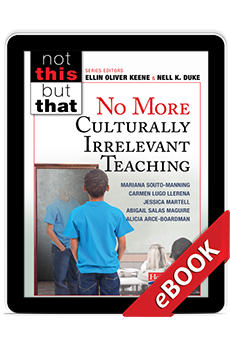 No More Culturally Irrelevant Teaching (eBook) cover