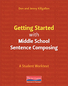Learn more aboutGetting Started with Middle School Sentence Composing