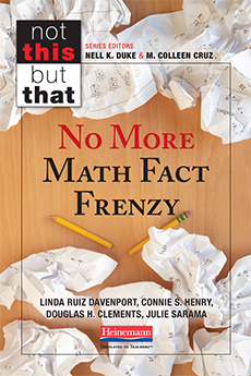 No More Math Fact Frenzy cover