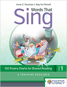 Words That Sing, Grade 1 cover
