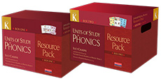 Units of Study in Phonics Resource Pack, Grade K cover
