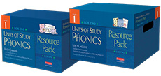 Units of Study in Phonics Resource Pack, Grade 1 cover