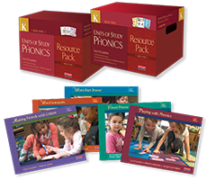 Units of Study in Phonics, Grade K Bundle cover