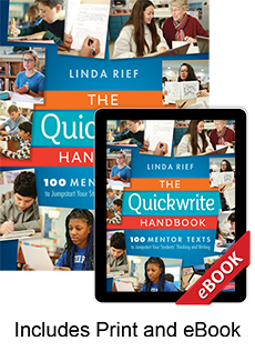 Learn more aboutThe Quickwrite Handbook (Print eBook Bundle)