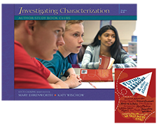 Investigating Characterization: Author-Study Book Clubs with Trade Pack cover