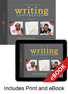 Learn more aboutA Teacher's Guide to Writing Conferences (Print eBook Bundle)