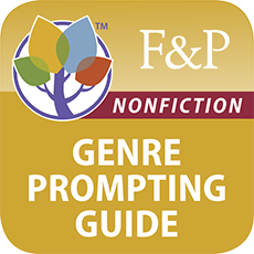 Genre Prompting Guide App for Nonfiction, Poetry, and Test Taking