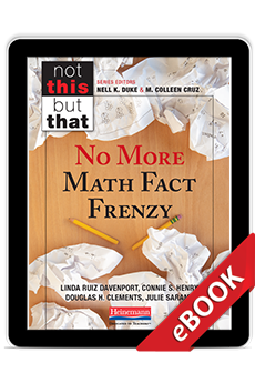 No More Math Fact Frenzy (eBook) cover