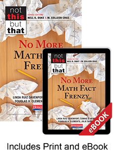 No More Math Fact Frenzy (Print eBook Bundle) cover