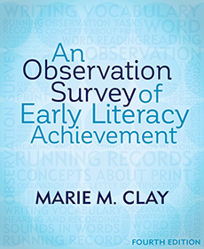An Observation Survey of Early Literacy Achievement, Fourth Edition cover