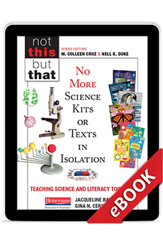 No More Science Kits or Texts in Isolation (eBook) cover