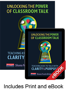 Learn more aboutUnlocking the Power of Classroom Talk (Print eBook Bundle)