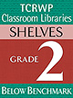 Grade 2 Below Benchmark Library Shelves