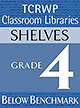 Grade 4 Below Benchmark Library Shelves