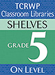 Grade 5 Library Shelves