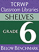Grade 6 Below Benchmark Library Shelves