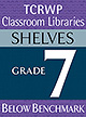 Grade 7 Below Benchmark Library Shelves
