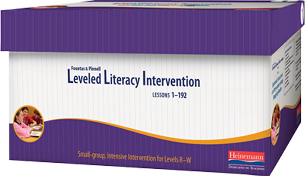 Fountas & Pinnell Leveled Literacy Intervention (LLI) Purple System