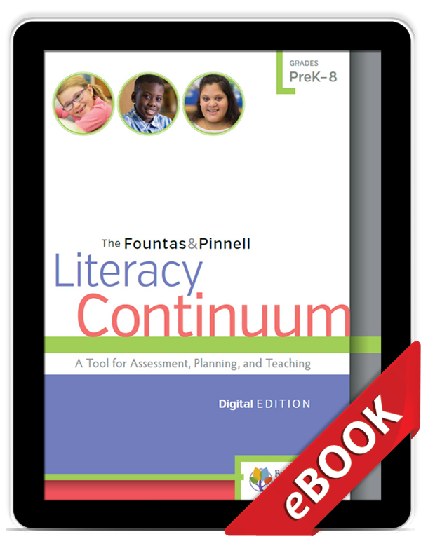 The Literacy Continuum, Digital Edition