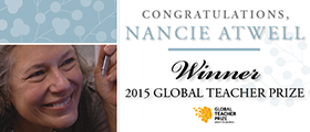 Nancie Atwell Winner Global Teacher Prize