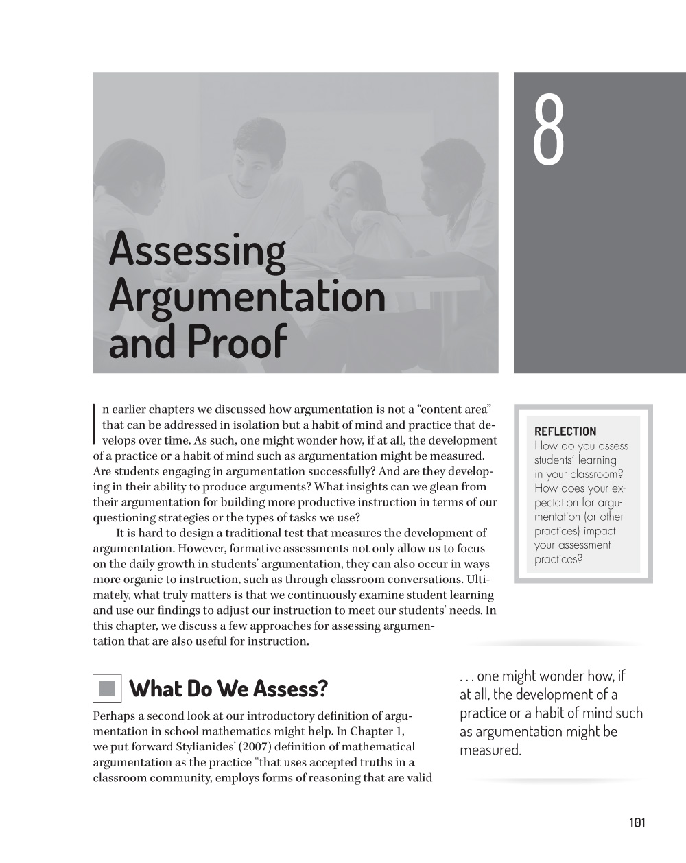 Teaching with Mathematical Argument