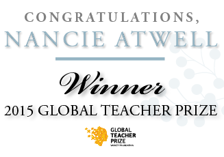 Nancie Atwell Global Teacher Prize Winner