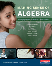 Making Sense of Algebra book cover